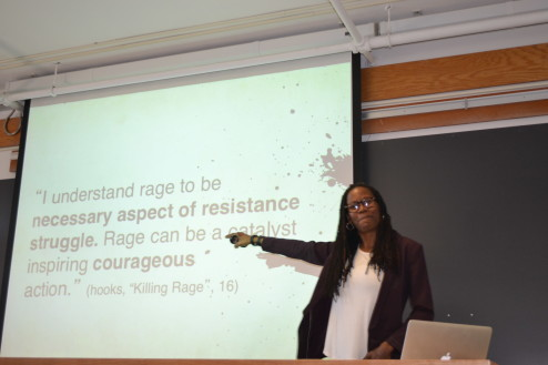 myisha cherry at Harvard speaking about black rage